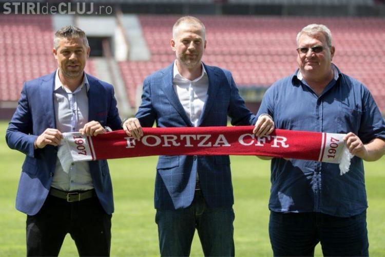 E OFICIAL! Edi Iordănescu a semnat cu CFR Cluj: Noi vom face totul, vom da totul până la ultima picătură de energie