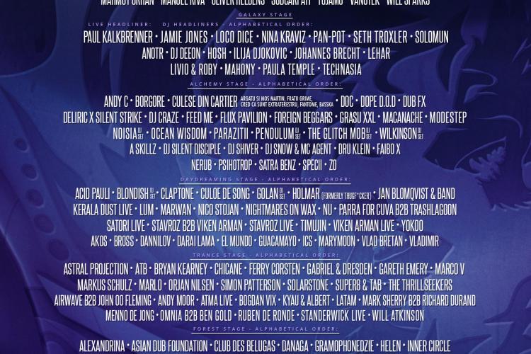 Organizatorii UNTOLD anunță că line-up-ul festivalului se completează cu alți 130 de artiști