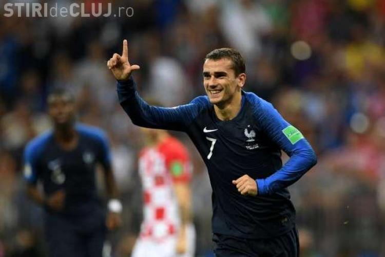 Replica lui Griezmann, după ce naționala Franței a fost acuzată că are mai mulți jucători africani
