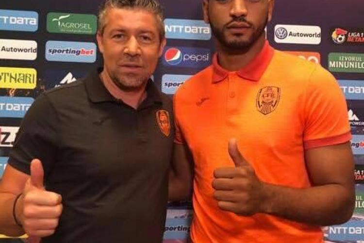 De ce și-a prelungit Omrani contractul cu CFR Cluj