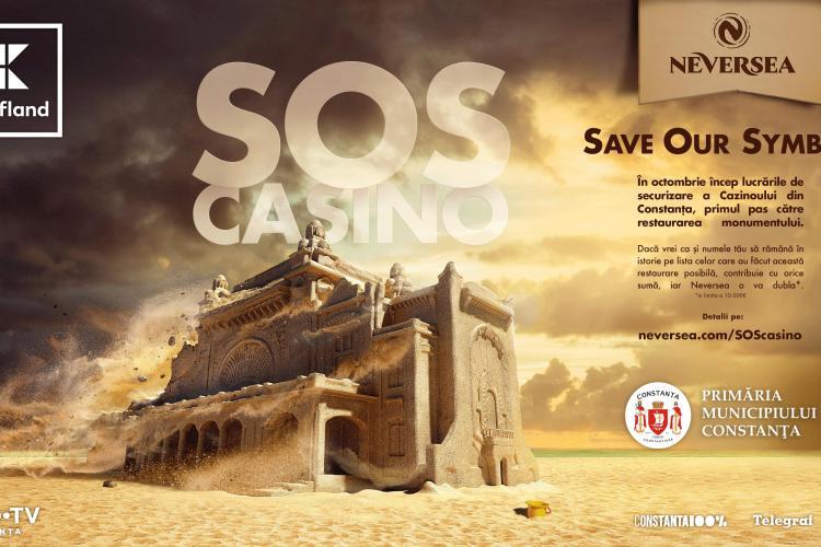 "NEVERSEA lansează campania ""S.O.S. CAZINO"" Constanța!"