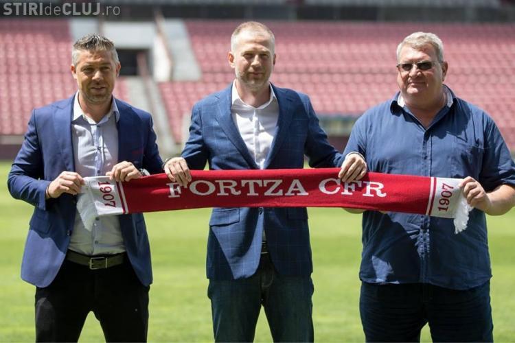 CFR Cluj l-a prezentat pe Edi Iordănescu, noul antrenor al echipei