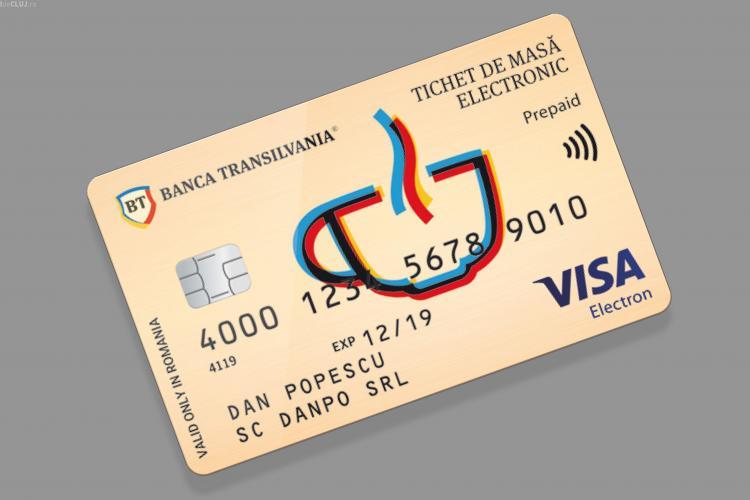 Banca Transilvania lansează Cardul de masă. Cum funcționează și ce înseamnă