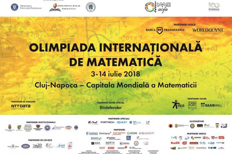 """START pentru Olimpiada Internaţională de Matematică 2018! Cluj-Napoca devine """"Capitala Mondială a Matematicii"""""""