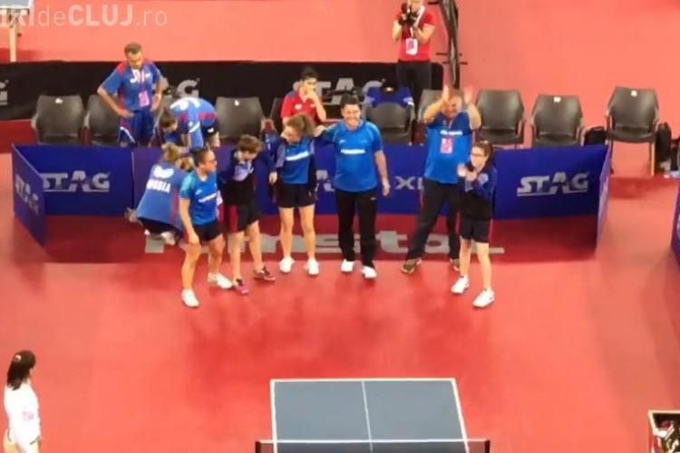 România a câștigat la Cluj finala Campionatelor Europene de Tenis de masă - VIDEO