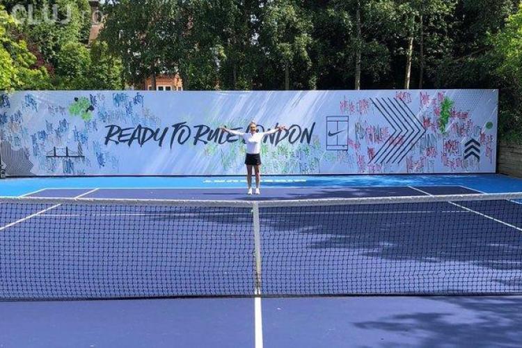 Moment special pentru Halep la Wimbledon! Surpriză de la Nike