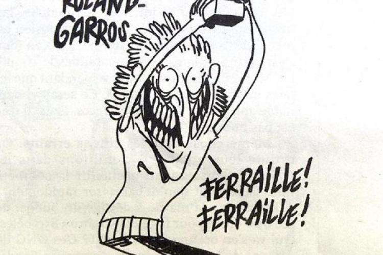 Revista Charlie Hebdo a publicat un editorial după scandalul izbucnit de la caricatura cu Simona Halep: Europenii n-au nici un umor