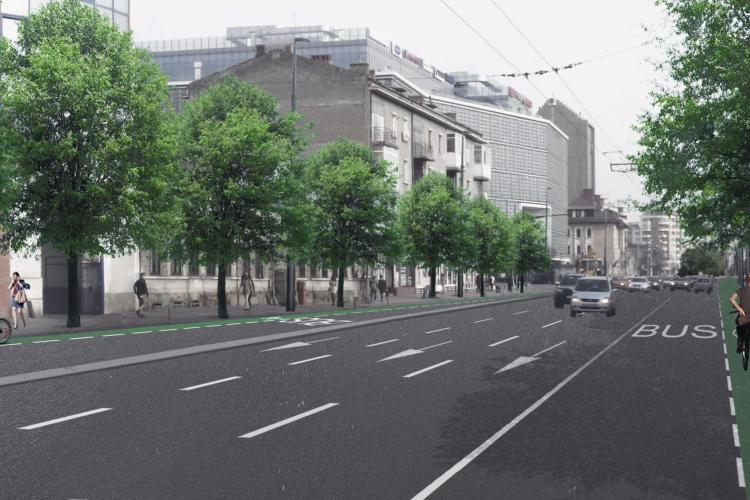 """Bulevardul 21 Decembrie 1989 va fi """"redesenat"""". Dezbatere publică"""