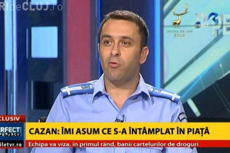 Coordonatorul intervenției jandarmilor de la protestul din Piața Victoriei, își cere scuze după ȘASE ZILE