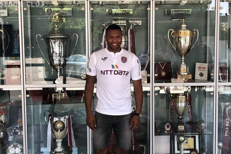 CFR Cluj a semnat cu un fost fundaș al lui Real Madrid, Arsenal și AS Roma