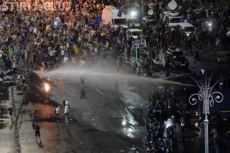 La protestul Diasporei, peste 400 de persoane au primit îngrijiri