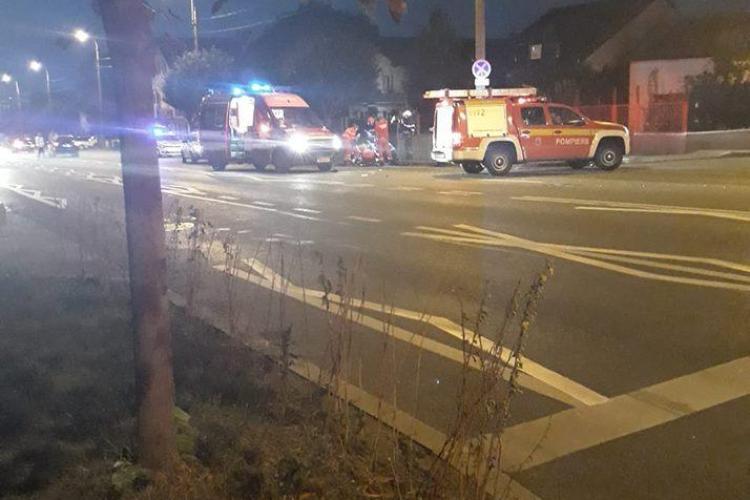 Accident mortal la Cluj. O femeie a fost spulberată pe trecerea de pietoni