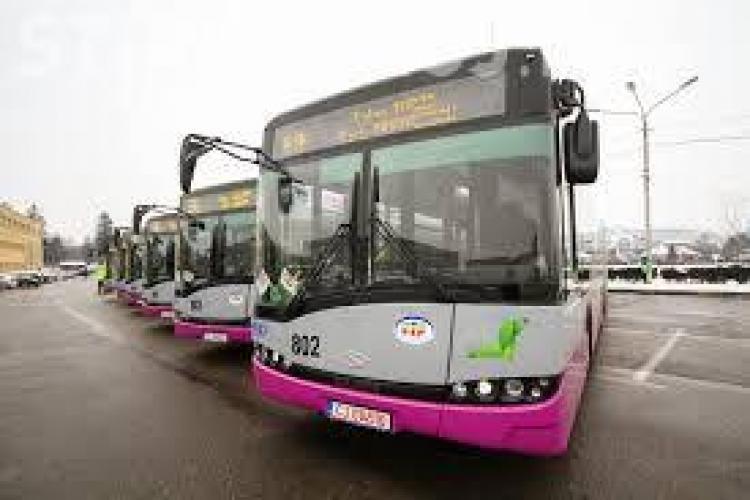Program special de funcționare a mijloacelor de transport în comun timp de 5 zile la Cluj, pentru că bugetarii au liber