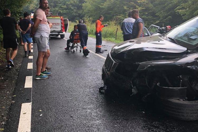 Accident la Sf. Ion cu trei mașini și patru victime - FOTO