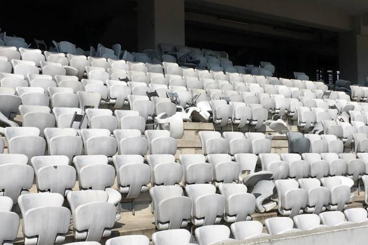 Cum a ajuns să arate stadionul Cluj Arena, perla sportului clujean - FOTO