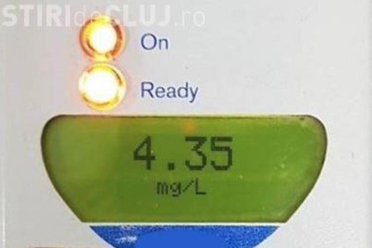 Alcoolemie record la un biciclist: 4,35 mg/l alcool pur în aerul expirat