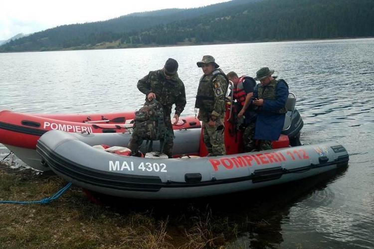 Scafandrii militari au venit la Beliș pentru căutarea directorului APIA