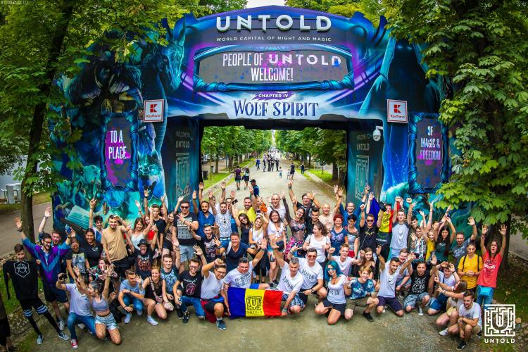 Prima zi de UNTOLD: Peste 84.000 de persoane au participat la festival FOTO/VIDEO