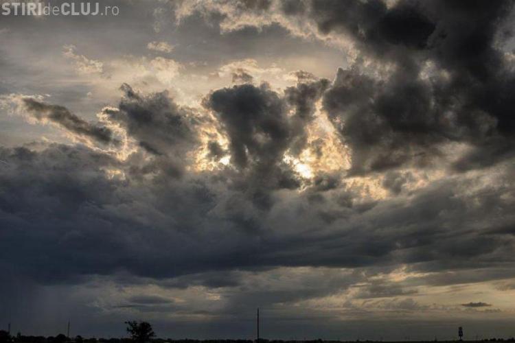 Weekend ploios la Cluj. Ce anunță meteorologii