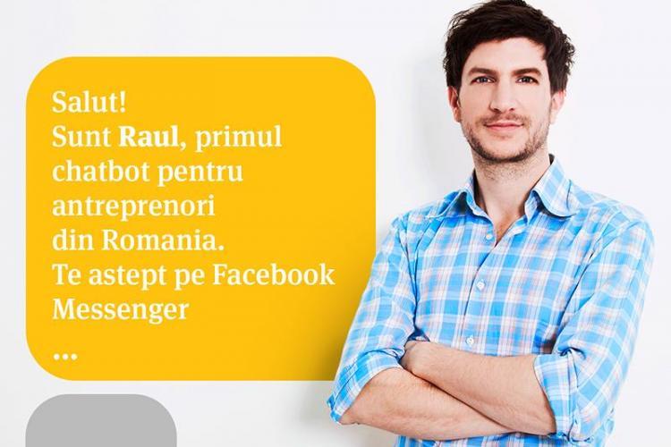 Banca Transilvania lansează Robotul Raul
