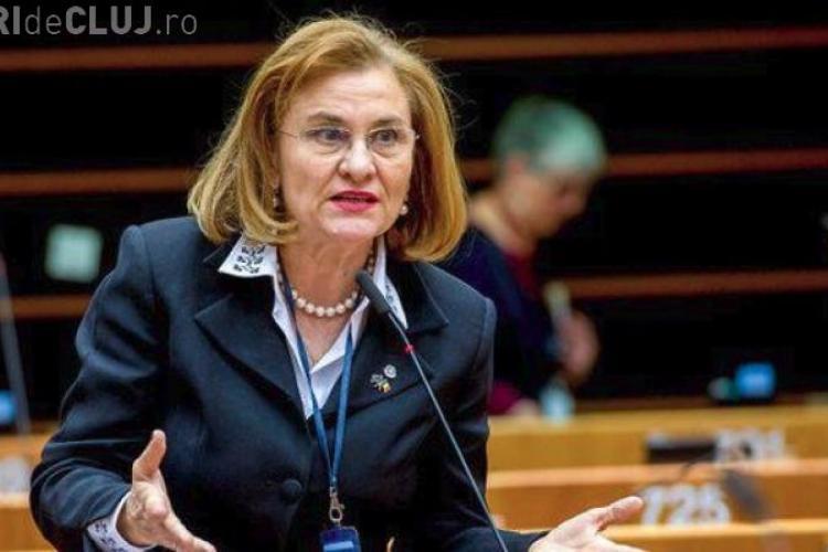 """Europarlamentarul Maria Grapini, către românii din Diaspora: """"Fără certificat de prost nu puteţi participa la miting"""""""