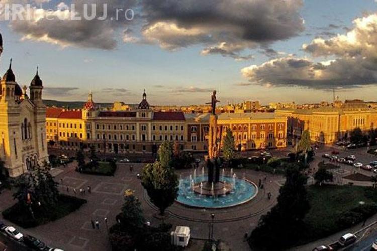 Boc anunță modernizarea Pieței Avram Iancu. NIMENI nu se atinge de statuia lui Avram Iancu