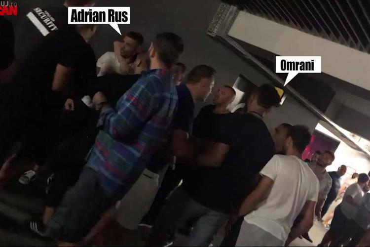 În bătaia dintre VIP -urile de la Untold au intrat și fotbaliștii CFR. Jandarmii le-au calmat fițele - FOTO