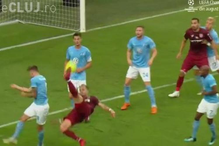 Malmo - CFR Cluj 1-1. Clujenii sunt eliminați din Liga Campionilor - REZUMAT VIDEO