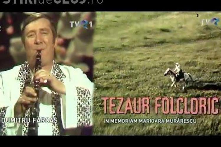 Povestea neștiută a melodiei lui Dumitru Fărcaș de pe genericul emisiunii Tezaur Folcloric
