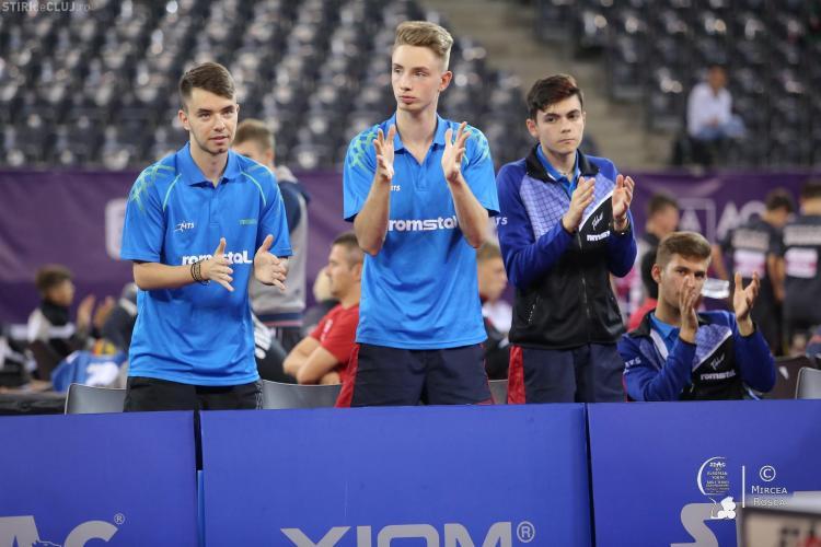 România a obținut 11 medalii la Campionatele Europene de Tenis de Masă STAG 2018, Juniori