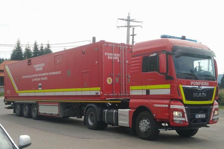 Pompierii clujeni au ajuns în a 8-a zi de căutări a trupului directorului APIA, în lacul Beliș. Primesc ajutor și de la ISU Mureș