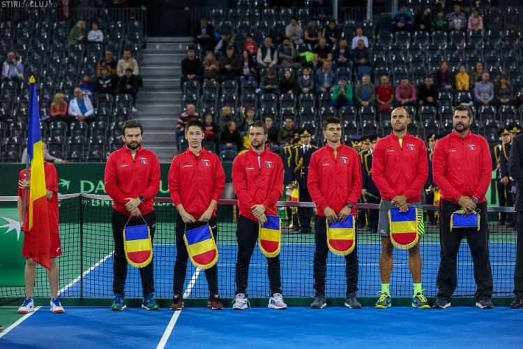 Meciul România - Polonia, din Cupa Davis se va juca la Cluj- Napoca, pe zgură
