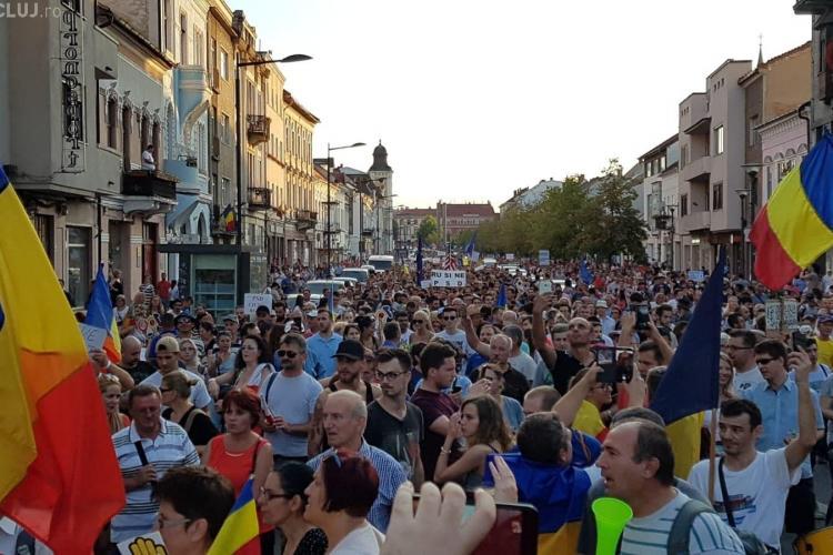 Un nou protest se anunță la Cluj, sâmbătă seară. Vezi de la ce oră