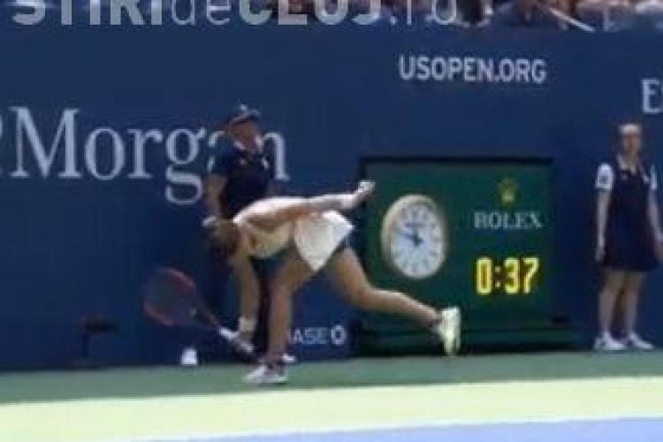 Simona Halep dată drept exemplu negativ în scandalul Serenei Williams de la US Open