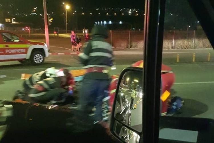Femeie lovită pe trecerea de pietoni la Metro. A ajuns în stare gravă la spital FOTO
