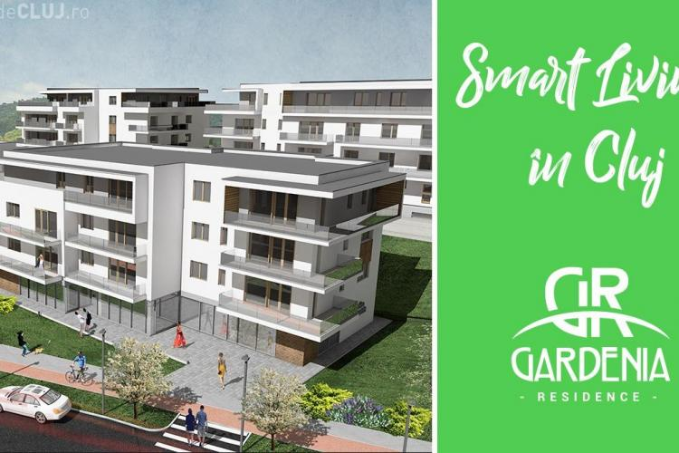 Smart City, Smart Living: un concept inovator adoptat în Cluj de Gardenia Residence! (P)