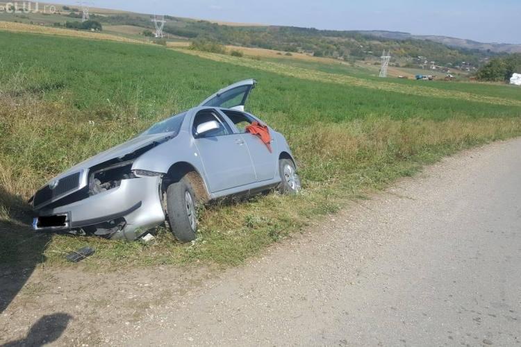 Cluj: Accident mortal în Suatu. Șoferul a plecat ca și când nimic nu s-a întâmplat  - FOTO