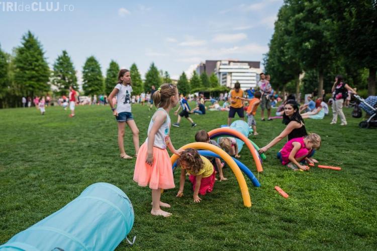 Vino duminică la Kiddy Festival, în Iulius Parc: Jocuri antrenante, ateliere creative și activități captivante