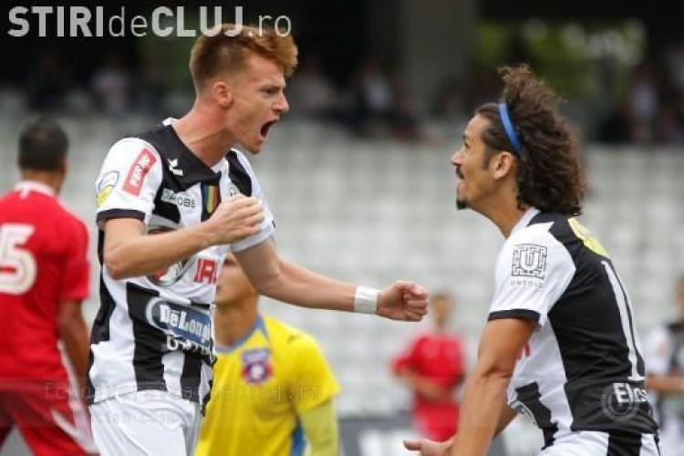 """Fanii U Cluj au lovit un tânăr care a strigă """"Hai, CFR!"""" pe """"templul"""" Cluj Arena"""