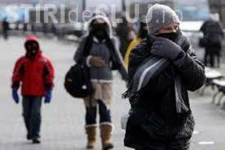 Avertisment de vreme rece în toată țara! ANM anunță temperaturi cu 10 grade mai mici față de cele normale pentru această perioadă