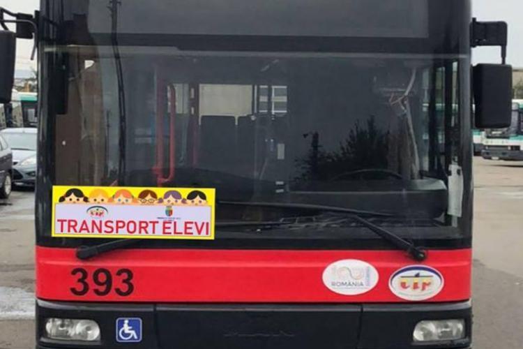 Cum arată autobuzele școlare din Cluj-Napoca. Pe ce trasee vor circula și ce zone sunt UITATE