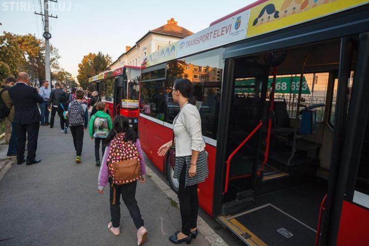 Autobuzele școlare vor fi suplimentate. Când ajung și în Florești