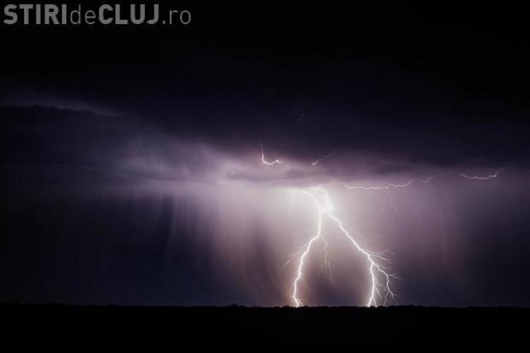 Cod galben de ploi la Cluj! Care sunt zonele afectate