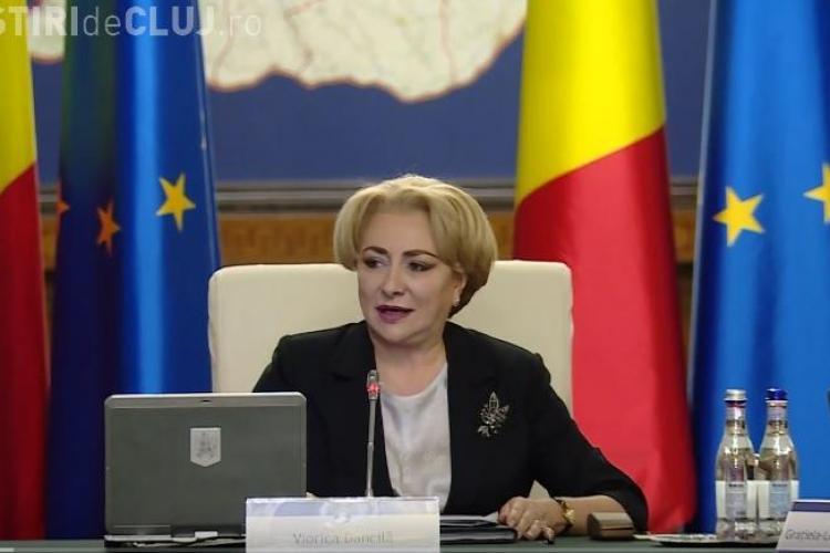 """Premierul Dăncilă nu a putut pronunța SIDA: """"Grad de handicap SIVA"""""""