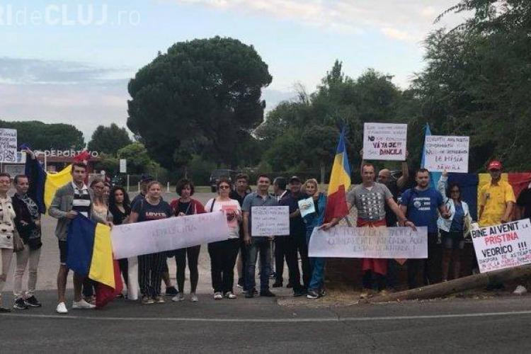 Românii din Spania o așteaptă cu proteste pe Viorica Dăncilă la Madrid FOTO