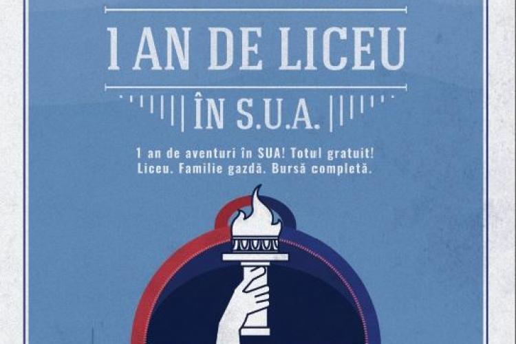 Un an de liceu în SUA. Se pot înscrie și elevii clujeni la American Corner Cluj-Napoca