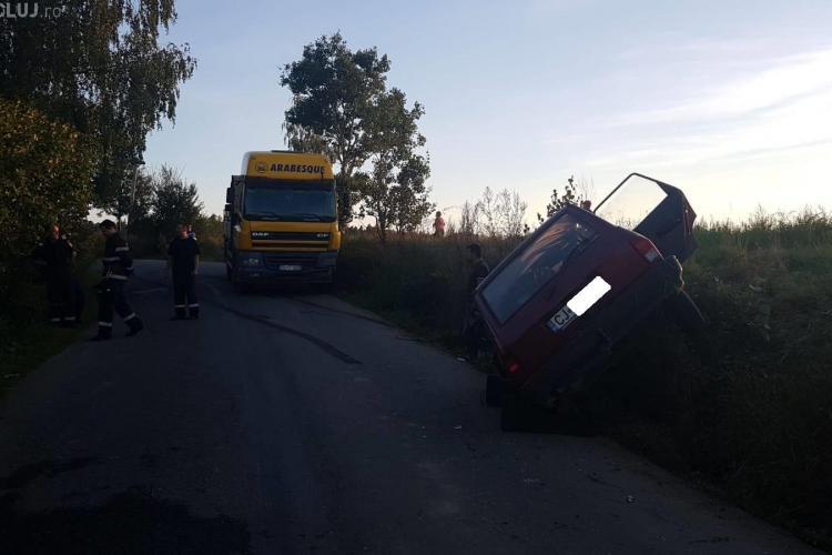Accident GRAV cu 5 victime între Dângău Mare și Căpușu Mare - FOTO