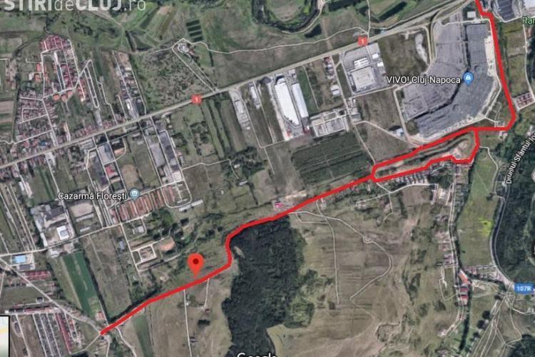 Strada Crizantemelor din Florești se închide traficului. Se introduce canalizarea
