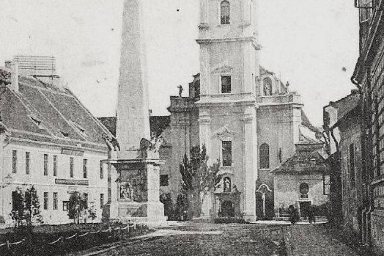 Piața Muzeului - Clujul din perioada în care timpul părea că stă în loc