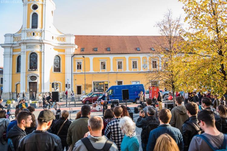 Concerte pe stradă, în centrul Clujului. Grimus vine la Jazz in the Street